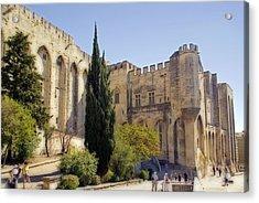 Avignon - Palais Des Papes Acrylic Print by Rod Jones