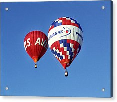 Acrylic Print featuring the photograph Avis Balloon by John Swartz