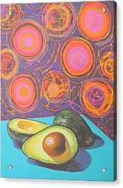 Avocado Delight Acrylic Print by Adel Nemeth