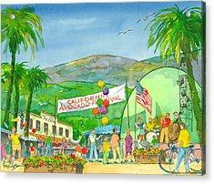 Avocado Festival Acrylic Print