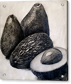 Avocados Acrylic Print by Debi Starr