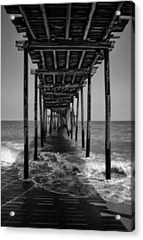 Acrylic Print featuring the photograph Avon Fishing Pier by Ben Shields