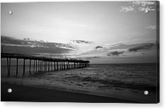 Avon Pier In Outer Banks Nc Acrylic Print