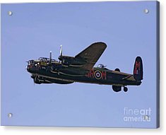 Avro 638 Lancaster At The Royal International Air Tattoo Acrylic Print by Paul Fearn