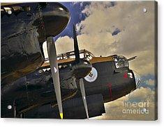 Avro Lancaster Bomber Acrylic Print