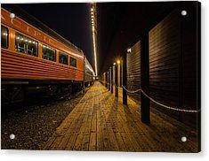 Awaiting Passengers Acrylic Print