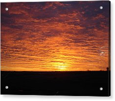 Acrylic Print featuring the photograph Awaiting The Dawn by J L Zarek
