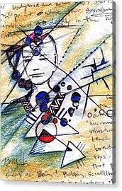 Awake In The Dream Acrylic Print by Bruce Manaka