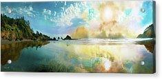 Awakening Acrylic Print by David M ( Maclean )