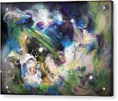 Awakening Acrylic Print by Kathleen Fowler