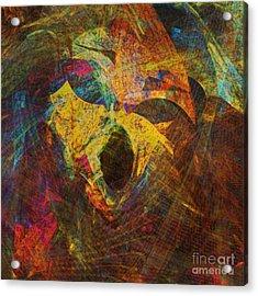 Awakening Acrylic Print by Klara Acel