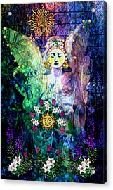 Awakening Acrylic Print by Mary Anne Ritchie
