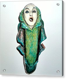 Awakening Acrylic Print by Satya Winkelman