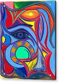 Awakening To Thy True Self Acrylic Print by Daina White