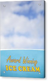 Award Winning Ice Cream Acrylic Print