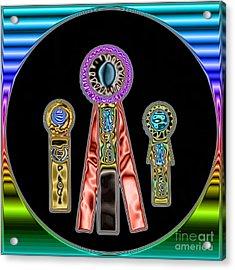 Awards Acrylic Print by Renee Trenholm