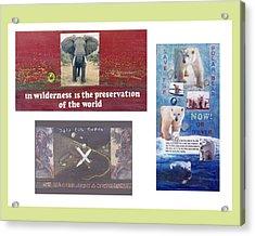 Awareness Group  Acrylic Print