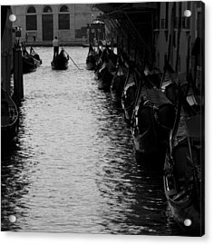 Away - Venice Acrylic Print by Lisa Parrish