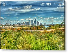 Awesome Austin Acrylic Print by Andrew Nourse