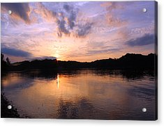 Awesome Sunset Acrylic Print