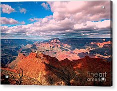 Awesome View Acrylic Print by Kathleen Struckle