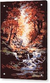Awsom  Acrylic Print by W  Scott Fenton