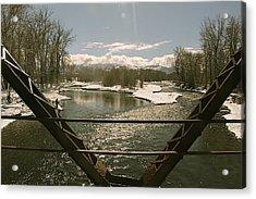 Axtell Bridge Acrylic Print