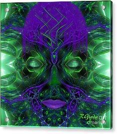 Ayahuasca Experience - Fantasy Art By Giada Rossi Acrylic Print