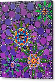 Ayahuasca Vision - The Healing Power Of Plants Acrylic Print