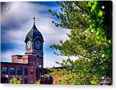 Ayer Mill In Lawrence Acrylic Print by Tricia Marchlik