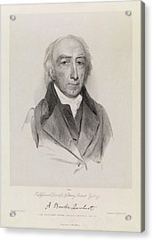 Aylmer Bourke Lambert Acrylic Print by Royal Institution Of Great Britain / Science Photo Library