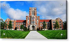 Acrylic Print featuring the photograph Ayres Hall by Paul Mashburn