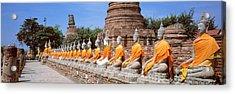 Ayutthaya Thailand Acrylic Print by Panoramic Images