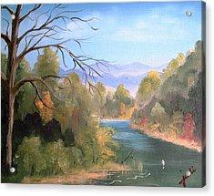 Az High Country Acrylic Print by Judi Pence