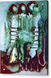 Acrylic Print featuring the painting Az2000 by Carolyn Goodridge