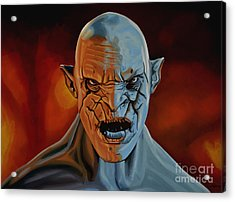 Azog The Orc Painting Acrylic Print