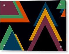 Aztec 2 Acrylic Print by Chastity Hoff