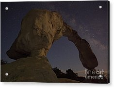 Acrylic Print featuring the photograph Aztec Arch by Keith Kapple