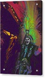 Aztec Dancer Acrylic Print