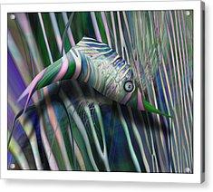 Aztec Party Redux Acrylic Print