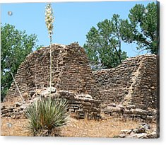 Aztec Ruins National Monument Acrylic Print by Laurel Powell