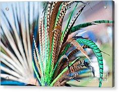 Aztecan Ceremony 1 Acrylic Print