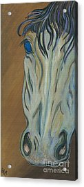 Azul Acrylic Print by Ella Kaye Dickey