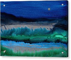 Azure Evening Acrylic Print