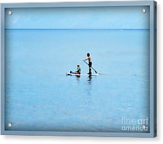 Acrylic Print featuring the photograph Azure by Leslie Hunziker