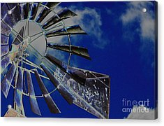 Azure Sky  Acrylic Print