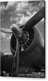 B-17 Engine Acrylic Print
