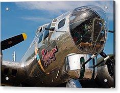 B-17 Flying Fortress Acrylic Print by Adam Romanowicz