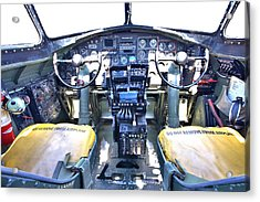 B-17 Front Office Acrylic Print