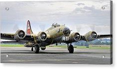 B-17g Acrylic Print by Dan Myers